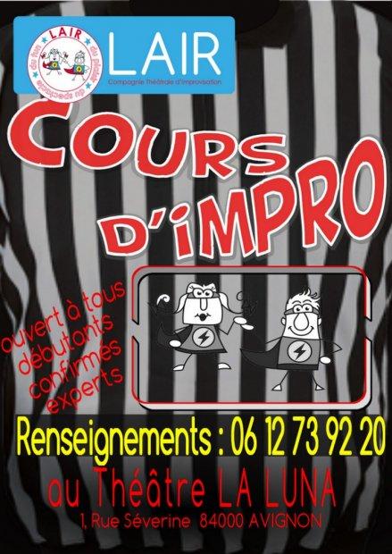 LAIR Cours d'improvisation 2017/2018