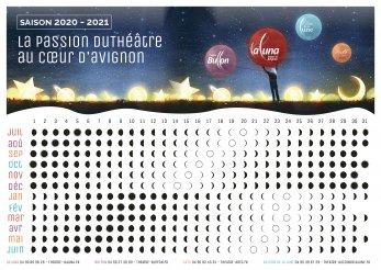 Calendrier Lunaire 2020 horizontal jpg