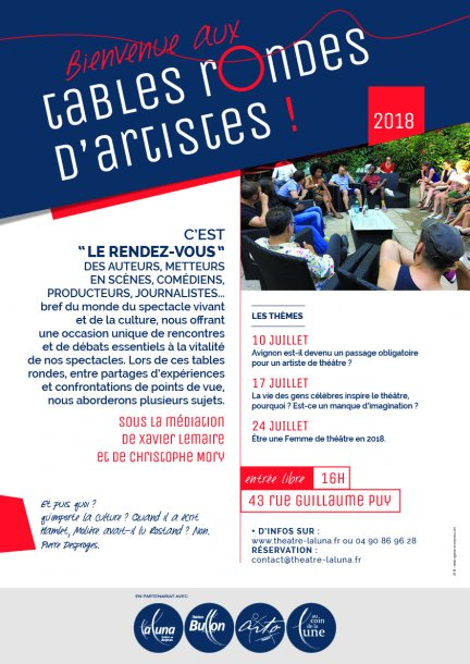 Tables Rondes 2018