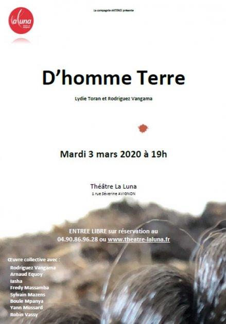Résidence D'homme Terre / février 2020 1