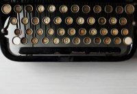 Illustration machine à écrire