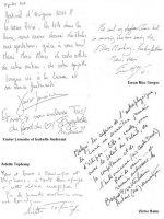 Livre d'or dédicaces page 8